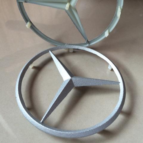 Foto von 3d-Bauteil außen metallisiert Automotiv Zubehör 2