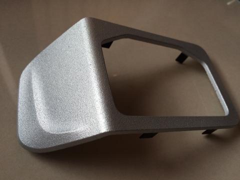 Foto von 3d-Bauteil außen metallisiert Automotiv Zubehör (Zn)