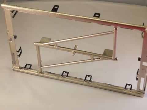 Foto von 3d-Bauteil außen metallisiert Automotiv Zubehör