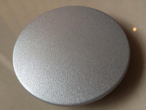 Foto von 3d-Bauteil außen metallisiert und pulverisiert (Zn) 2