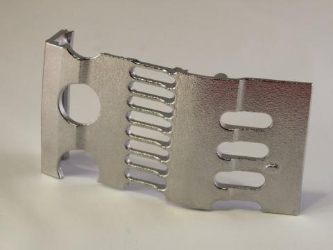 Foto von Aluminium vollständig metallisiert (Zn) 2